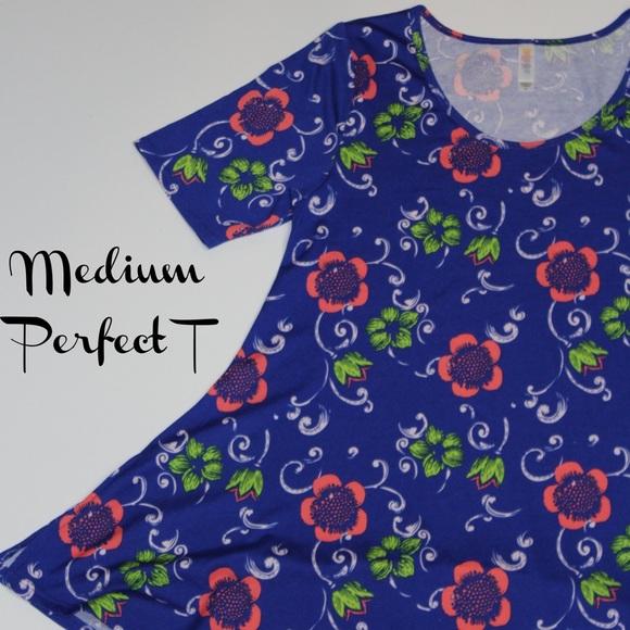 LuLaRoe Tops - LuLaRoe Medium Perfect T